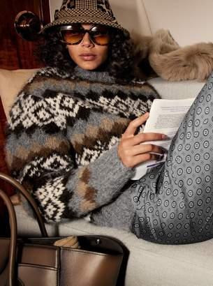 Michael Kors Silk-Twill Foulard Pajama Pants