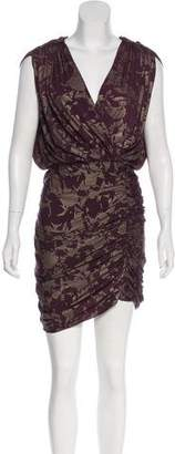 ALICE by Temperley Printed Draped Dress