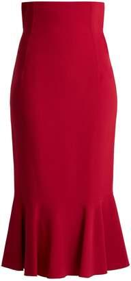 Dolce & Gabbana Fluted cady skirt