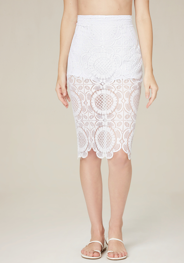 Brady Lace Skirt