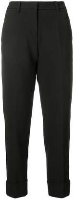 Cambio straight cropped trousers