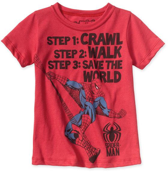 Mini Fine 'Spiderman' TShirt (Toddler)
