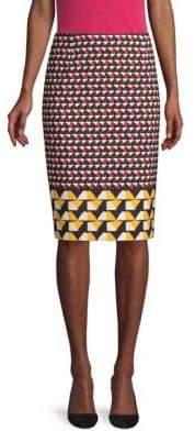 BOSS Micro Stretch Graphic Skirt