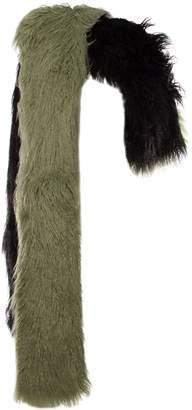 Dries Van Noten Fur Scarf
