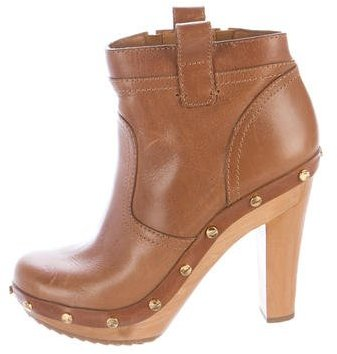 Tory Burch Tory Burch Leather Ankle Boots