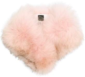 Mr & Mrs Italy fox fur collar