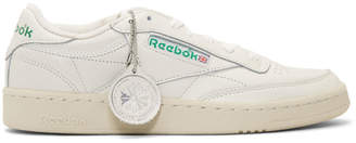 Off-White Reebok Classics Club C 1985 Sneakers