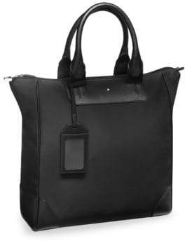 Montblanc Vertical Leather Tote