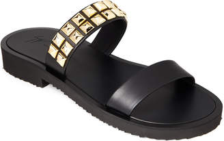 Giuseppe Zanotti Studded Double Band Sandals