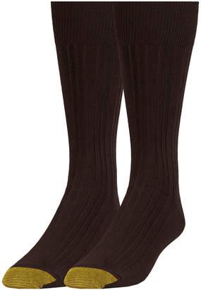 Gold Toe Men's 2-Pk. Dress Crew Socks