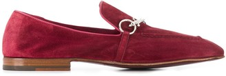 Cesare Paciotti silver-tone detail loafers