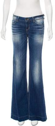 Siwy Mid-Rise Wide-Leg Jeans w/ Tags