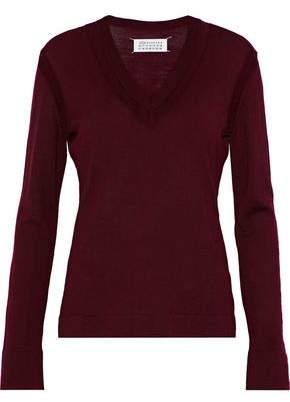 Maison Margiela Distressed Wool Sweater