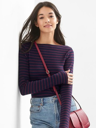 Stripe boatneck tee $29.95 thestylecure.com