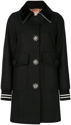 No.21 embellished coat