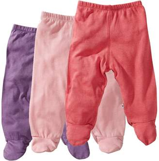 Baby Soy Essential 3-Piece Footie Pant Set for Girls