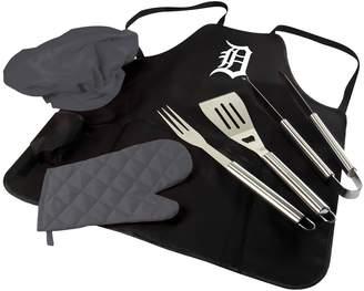 Picnic Time Detroit Tigers BBQ Apron, Utensil & Tote Set