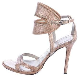 Camilla Skovgaard Embossed Leather Sandals