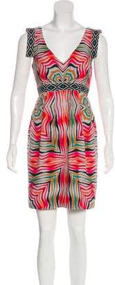 Tibi Silk Sleeveless Dress