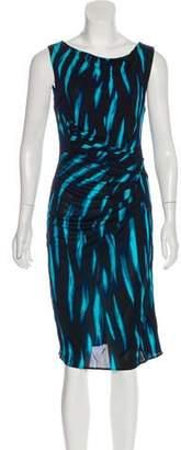 Issa Sleeveless Printed Dress