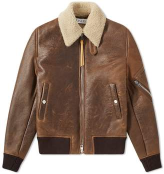 J.W.Anderson Shearling Aviator Jacket