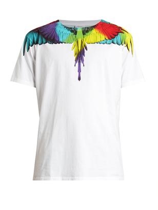 MARCELO BURLON Nicolas cotton-jersey T-shirt $150 thestylecure.com