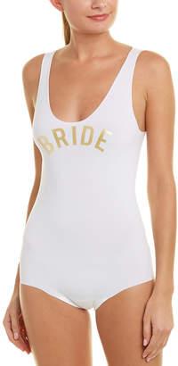 Commando Bridal Bodysuit