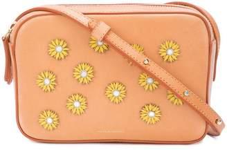 Mansur Gavriel floral embellished crossbody bag