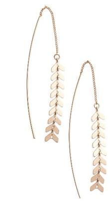 Women's Jules Smith Helene Threader Earrings $70 thestylecure.com