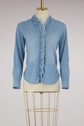 Etoile Isabel Marant Cotton Lawendy shirt