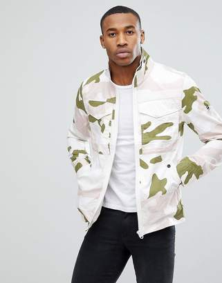 G Star G-Star Deline Camo Hooded Jacket