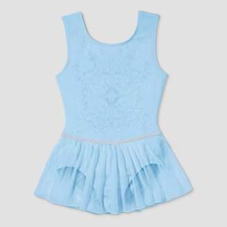 Danskin Freestyle by Toddler Girls' Tank Skirtall - Light Blue