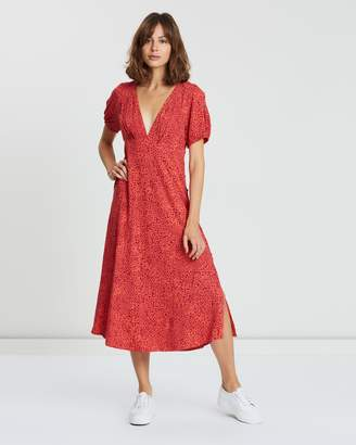 Free People Looking For Love Midi Dress