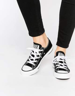 Converse (コンバース) - Converse Chuck Taylor All Star core black ox sneakers