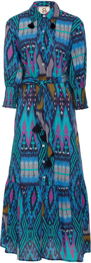Figue Indiana belted cotton dress