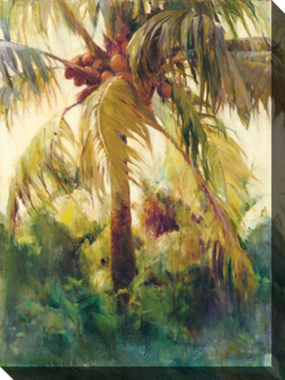Wild Coconut II Canvas Wall Art