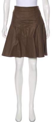 Ralph Lauren Flared Mini Skirt