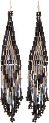 Schiff Marlyn Beaded Fringe Earrings