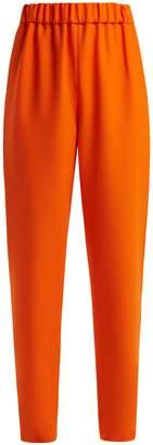 Maison Rabih Kayrouz Wool-twill mid-rise trousers