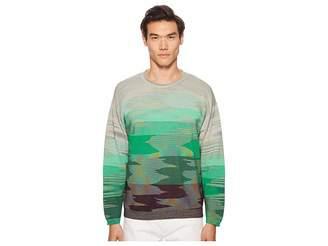 Missoni Fiammato Long Sleeve Sweater Men's Sweater