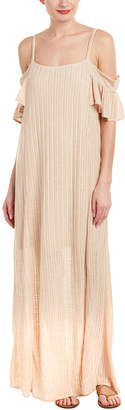 Moon River Ribbed Maxi Dress