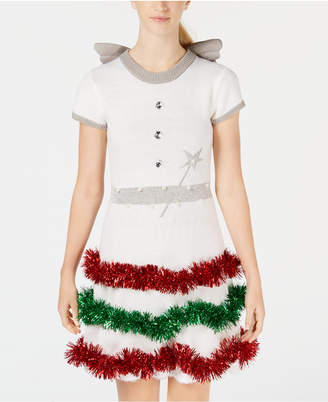 Planet Gold Juniors' Holiday Angel Dress