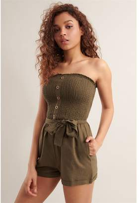 Garage Linen Tube Romper