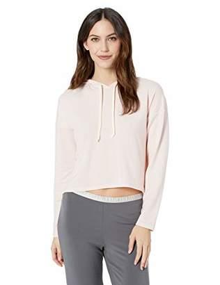 Mae Amazon Brand Women's Standard Cropped Hoodie