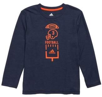 adidas Football Vertical Collage T-Shirt