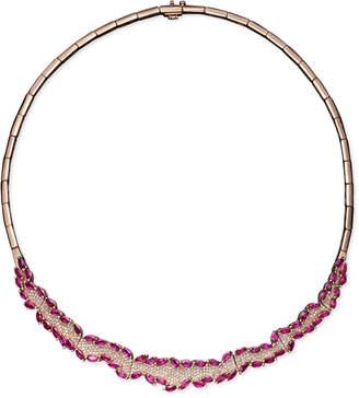 Effy Rosa by Ruby (11-5/8 ct. t.w.) and Diamond (1-3/8 ct. t.w.) in 14k Rose Gold