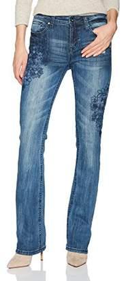 Grace in LA Women's Easy Fit Bootcut Jeans