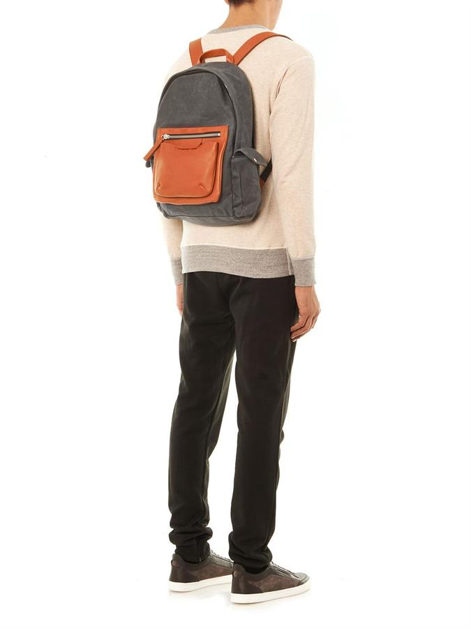 Marc by Marc Jacobs Leather pocket backpack
