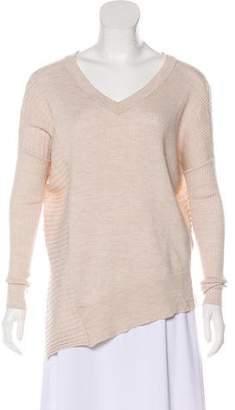 AllSaints Keld V-Neck Merino Wool Sweater
