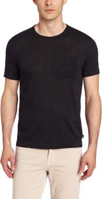 John Varvatos Men's Burnout Long Sleeve Oxford Slim Shirt
